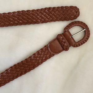 Accessories - Brown braided belt